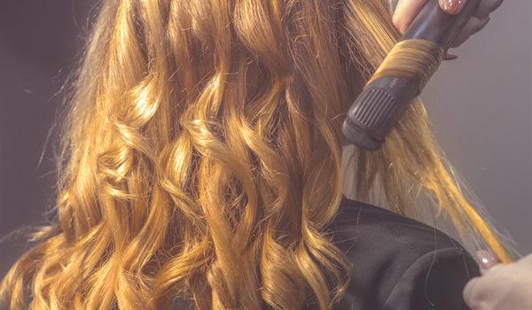 hårlockning på Klippstugan